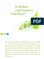 How to Reduce Expenses and Improve Cash Flow?