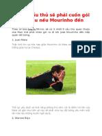 Những Cầu Thủ Sẽ Phải Cuốn Gói Khỏi Mu Nếu Mourinho Đến