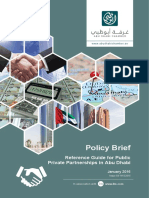 Ohan Balian 2016 Reference Guide for Public Private Partnerships in Abu Dhabi. Policy Brief, Issue 03-18122015, January 2016.