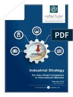 Ohan Balian 2016 Industrial Strategy for Abu Dhabi Companies in International Markets. Sectoral Report, Issue 02-05012016, February 2016.