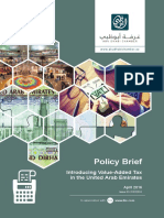 Ohan Balian 2016 Introducing Value-Added Tax in the UAE. Policy Brief, Issue 03-31032016, April 2016