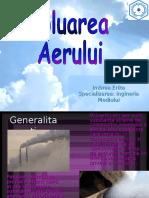 Imbrea Erika-Poluarea Aerului