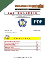 Sai Bulletin March 2016