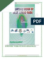 Scientific Work of Imam Ahmad Raza
