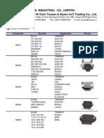 Sensor Catalogue