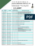 C.V.Joint