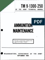 (1969) TM 9-1300-250 Ammunition Maintenance