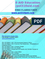 POL 310 AID Education Expert/pol310aid.com
