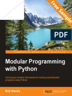 Modular Programming with Python - Sample Chapter