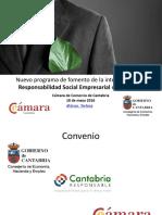 Programa RSE Cámara Comercio Cantabria
