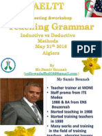 teaching Grammar  AELTT meeting Algiers May 21 St2016.ppt