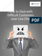 How to Deal With Difficult Customers Over Live Chat
