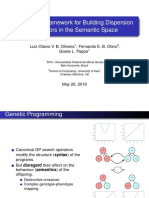 A Generic Framework for Building Dispersion Operators in the Semantic Space