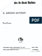 Twelve Preludes on Aksak Rhythms Op.45