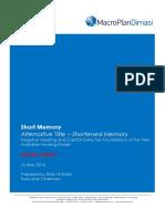 Short Memory Alternative Title – Shortened Memory