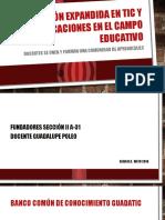Edu Expandida - TIC y sus aplicaciones