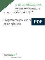 Renforcement Musculaire Avec Le Thera-Band. Programme Pour Le Buste Et Les Paules 04