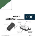 ScottyPro Incarcator Solar