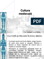 Cultura Medievala