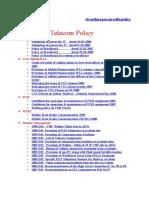 Telecom Policy