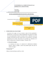 Factores Que Determinan La Competitividad en Las Empresas de La Region Piura.