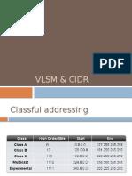 11.VLSM & CIDR