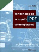 Cejka, J. (1995) Tendencias de La Arquitectura Contemporanea