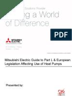 52 - Part L European Legislation Affecting Use of Heat Pumps