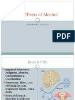harmful effects of alcohol
