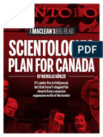 Scientology's Plan For Canada by Nicholas Kohler