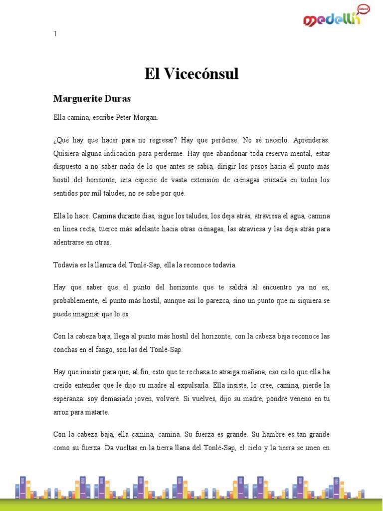 Duras Marguerite-El Viceconsul
