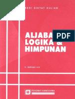 Aljabar Logika & Himpunan
