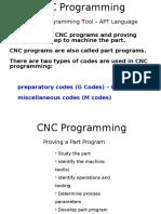 UNIT 7 - CNC - Lecture 3 - Programming