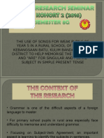 PPT for english thesis