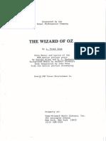 Wizard of Oz RSC Script