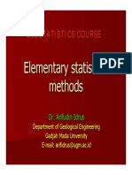 1. Elementary Statistical Methods