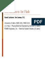 Intro to Arc Flash