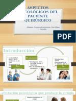 Aspectos Psicológicos Del Paciente Quirúrgico