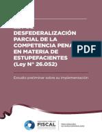 Informe Ley de Desfederalización