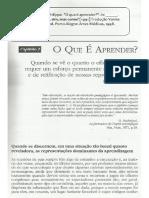 MEIRIEU, Philippe. ''O Que é Aprender-''. in- ______. Aprender... Sim, Mas Como- [1991] Tradução Vanise Dresch. 7. Ed. Porto Alegre- Artes Médicas, 1998. Pp. 47-69.