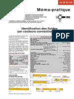 Identification Fluides Couleurs Conventionnelles