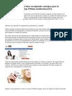 Nombre de dominio bien recogiendo consejos para la distribución del Blog última modernización