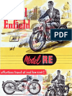 Catalogue Royal Enfield 1955 Anglais Re