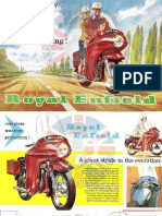 Catalogue Royal Enfield 1960 Anglais