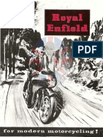 Catalogue Royal Enfield 1959 Anglais