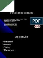 Fetal Assessment