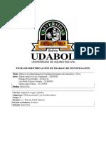 Políticas de industrialización de planta petroquímica de Amoniaco y Urea Proyecto BOLIVIA