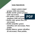 Fresas Pulido III