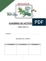 Cuaderno Ejercicios Biología