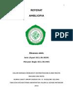 Amblyopia (Referat)